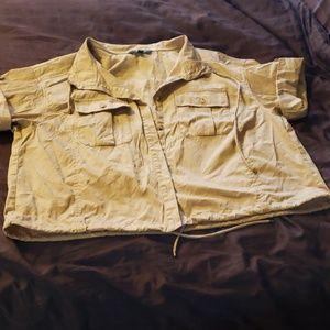 Ralph Lauren  khaki top
